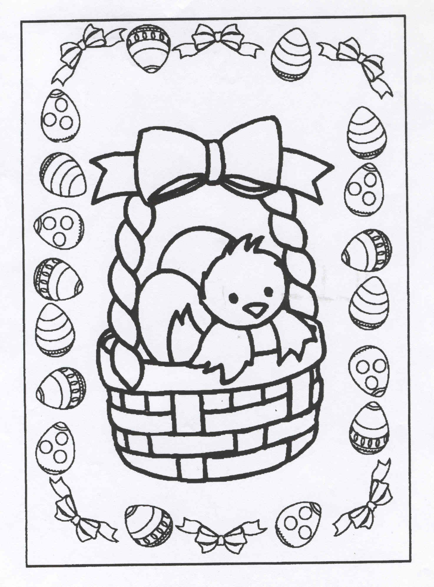 Kleurplaten Pasen Coloring Pages Easter Coloring Sheets Easter Colouring
