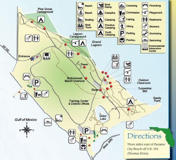 St Andrews State Park Panama City Beach St Andrews State