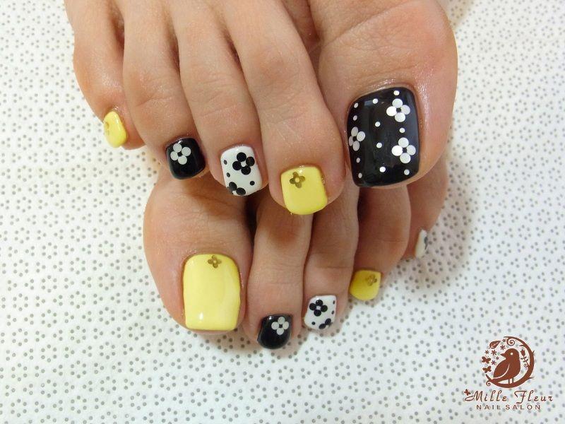 Ideas de Diseño de Uñas de los Pies hermosos | uñas *-* | Pinterest ...