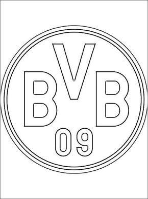 Bvb Logo Zum Ausmalen Social Networking Ausmalbilder