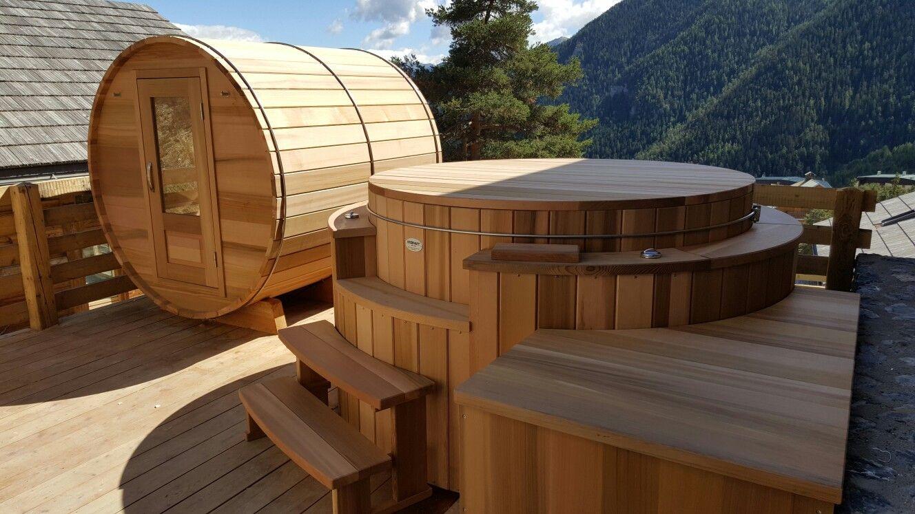 Abris De Spa Rond spa et sauna storvatt | sauna, spa