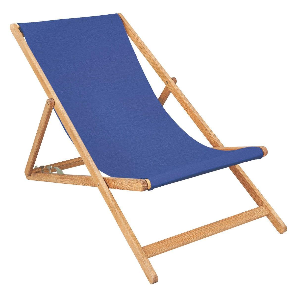 Strange Maui Oak Deckchair With Cobalt Blue Buy Now At Habitat Uk Alphanode Cool Chair Designs And Ideas Alphanodeonline