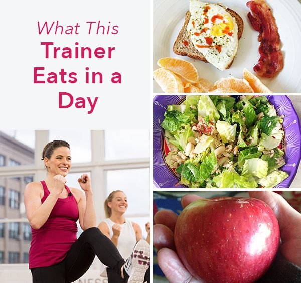 For fitness instructor and trainer Erika Shannon, eating is all about satisfying her palate—and powering through the eight workout classes she teaches each week. | Health.com