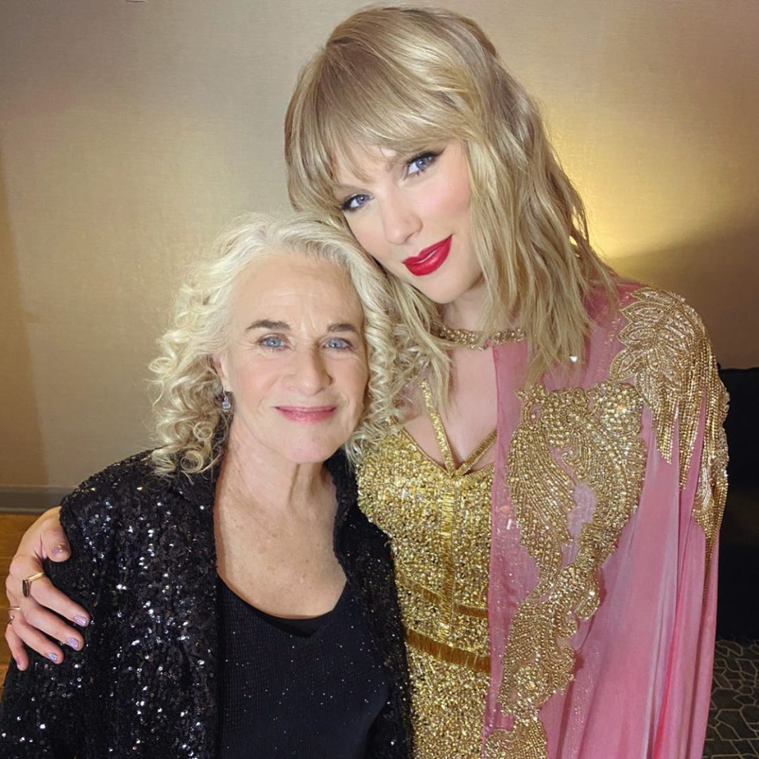 Carole King On Instagram Amas With My Friend Taylorswift Tree Paine Taylor Alison Swift Taylor Swift Songs Taylor Swift