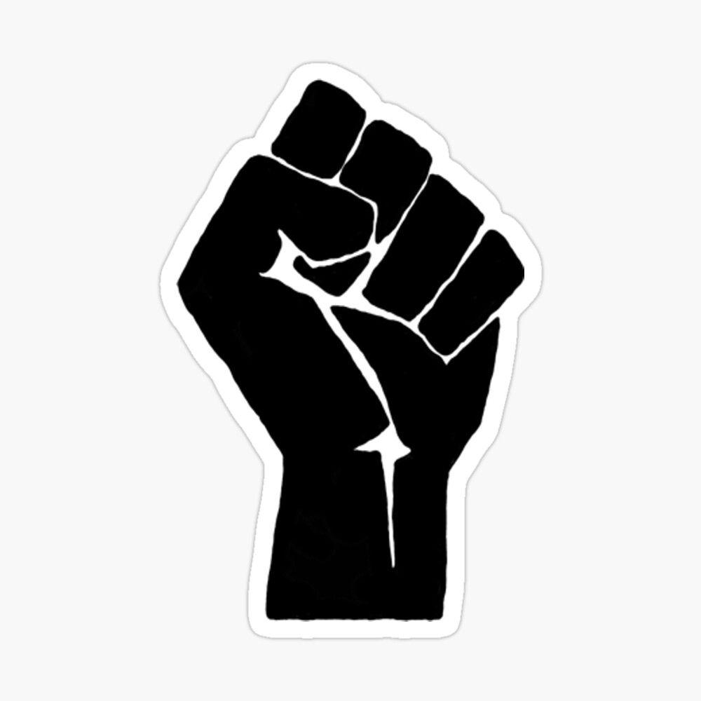Black Lives Matter Fist Donation Sticker By Trinitysoto In 2020 Black Lives Matter Poster Black Lives Matter Art Black Lives Matter