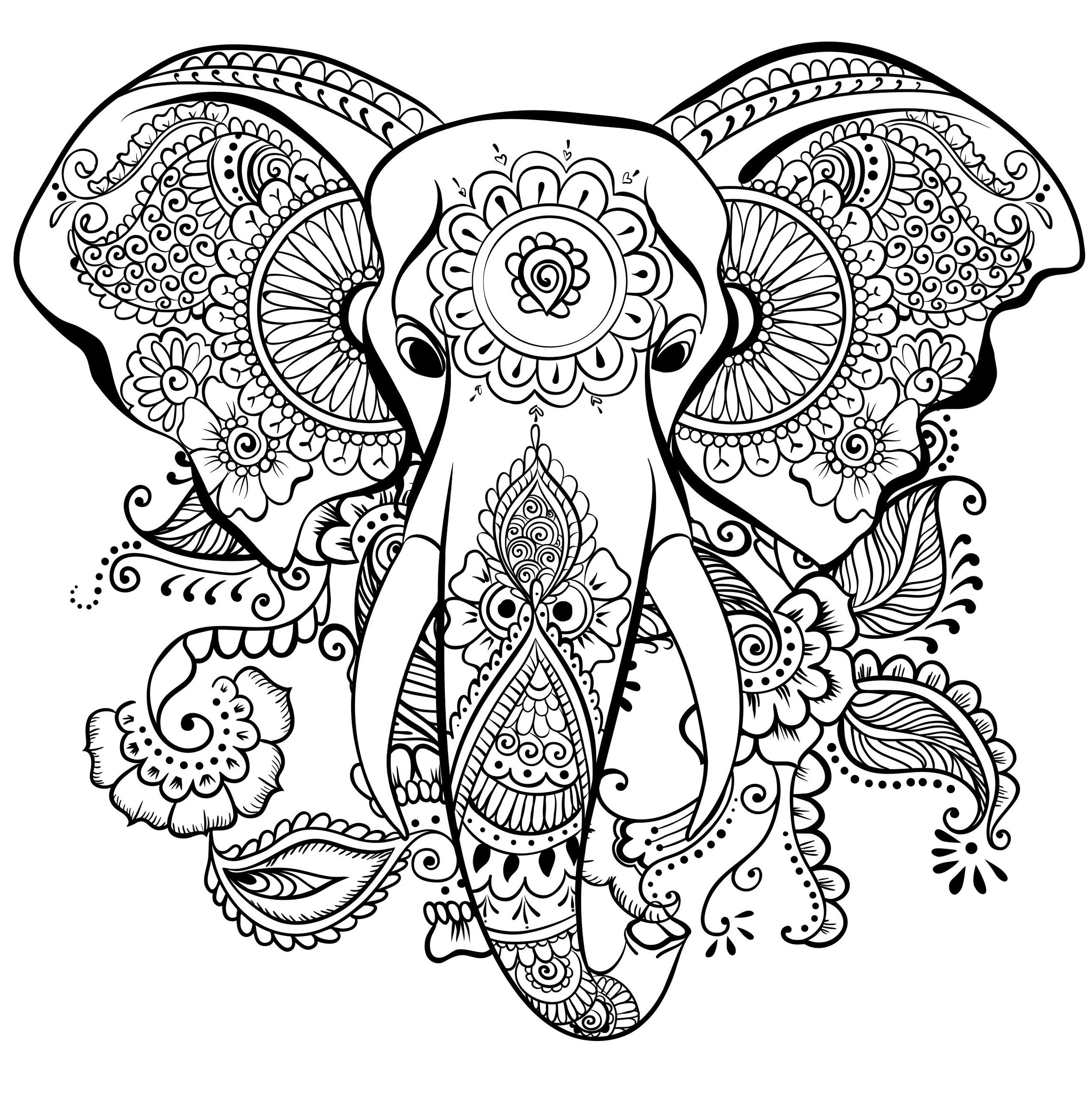 Take A Look At Mandalas En 2020 Coloriage Mandala Animaux Coloriage Mandala Coloriage Elephant