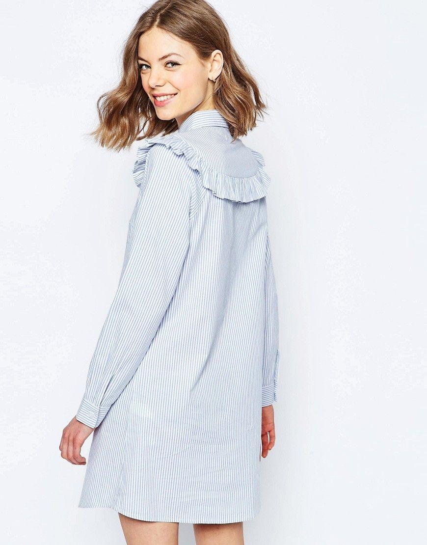 Асос платье рубашка