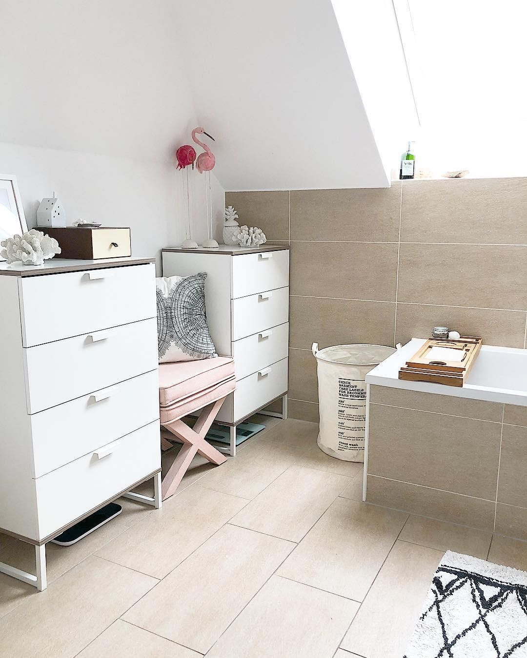Bathroom Goals! In diesem wunderschönen lichtdurchfluteten