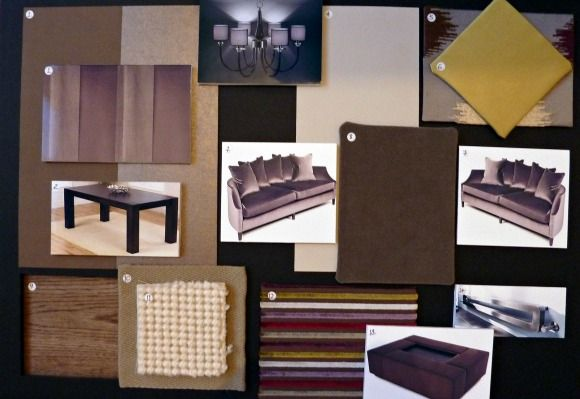 Example Concept Sample Board | Design clients, Sample ...