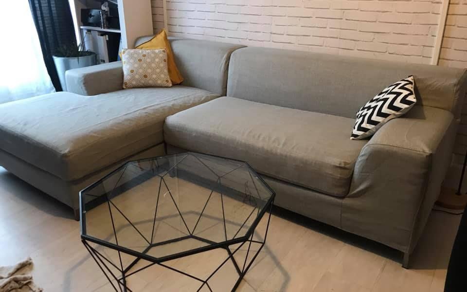 Ikea Kramfors Sofa In Kino Ash Sofa Slipcovers Sofa Cover Ikea
