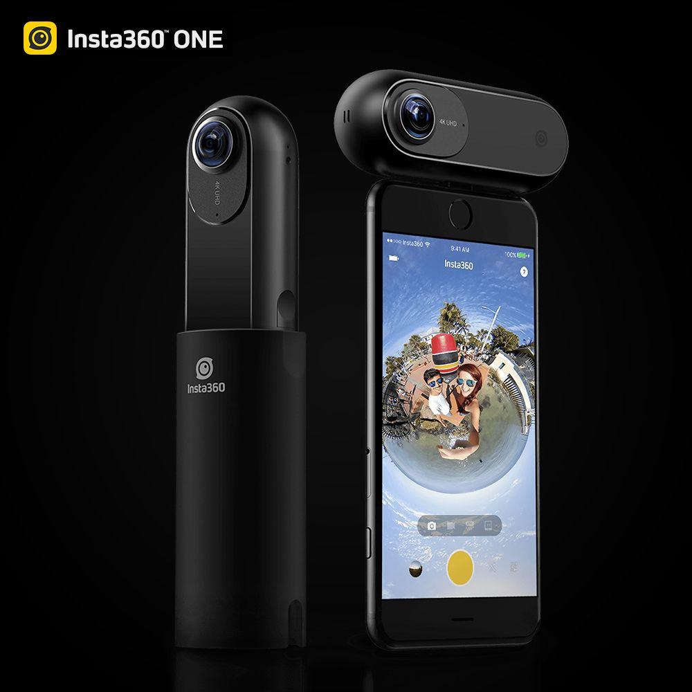 Insta360 One 4k 360 Vr Video Action Camera Sport Camera 24mp Bullet