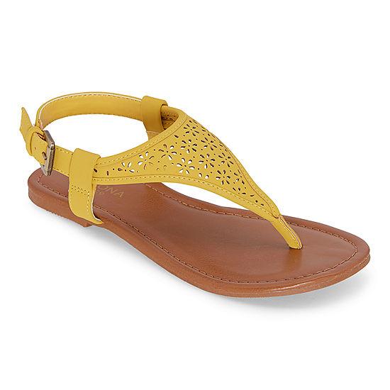 T strap flats, T strap, Flat sandals