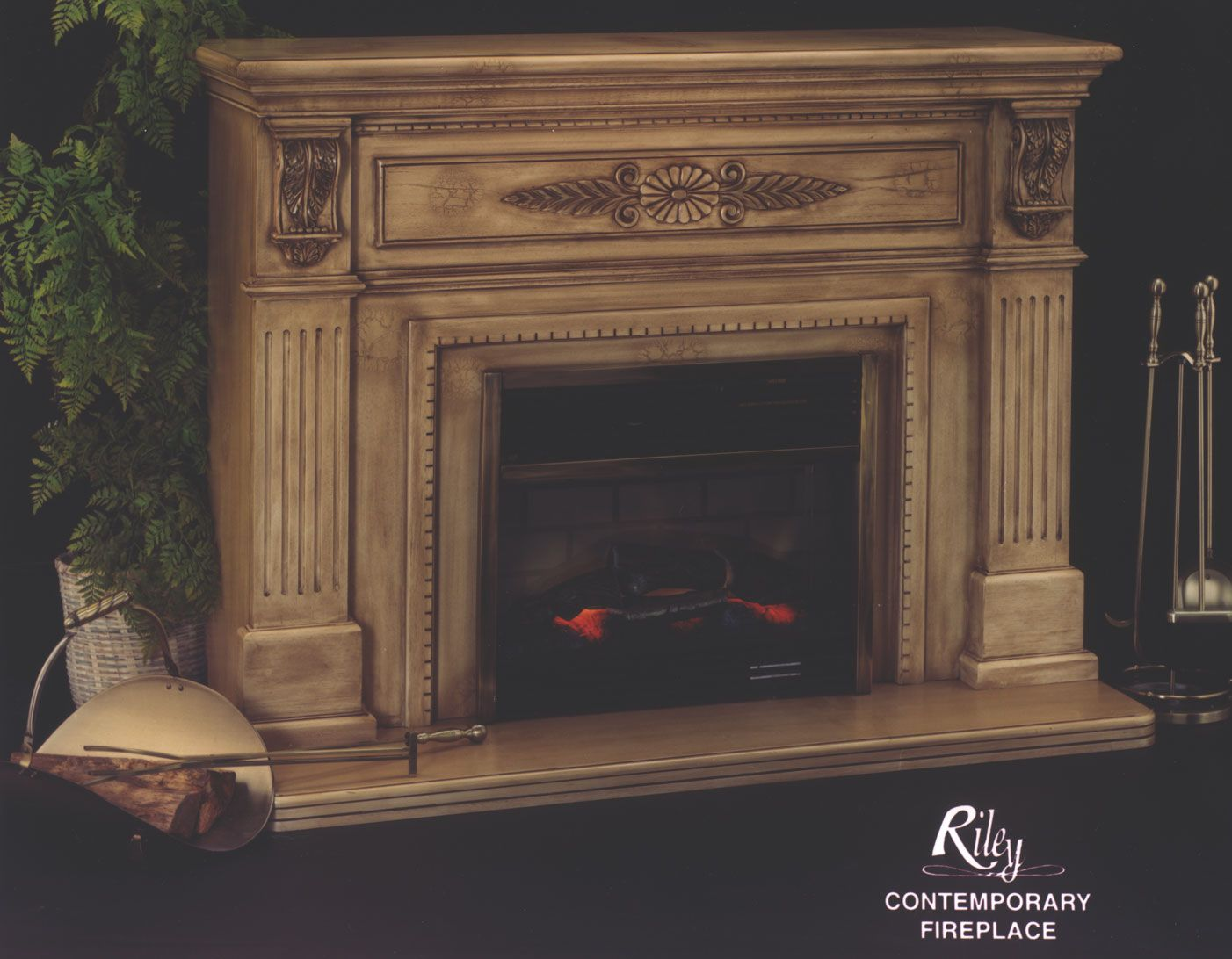Electric Fireplaces The Contemporary Electric Fireplace By Riley
