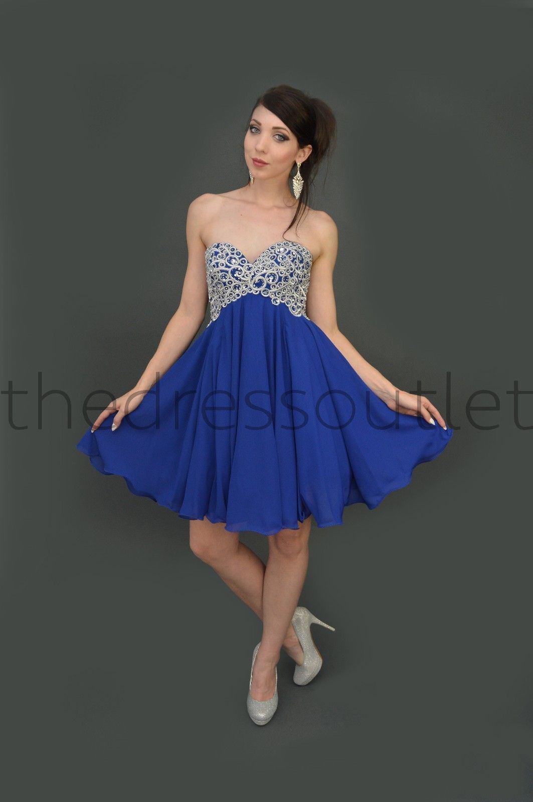 Short prom dress plus size homecoming formal cocktail dress