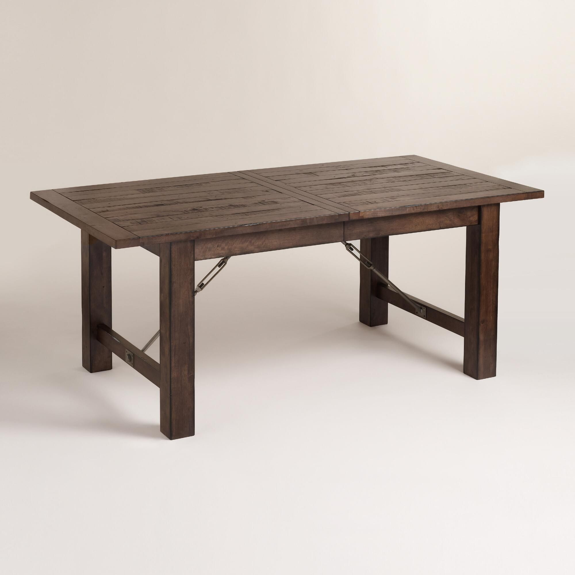 Beautifully Weathered Yet Built To Last Our Garner Extension Dining Table And