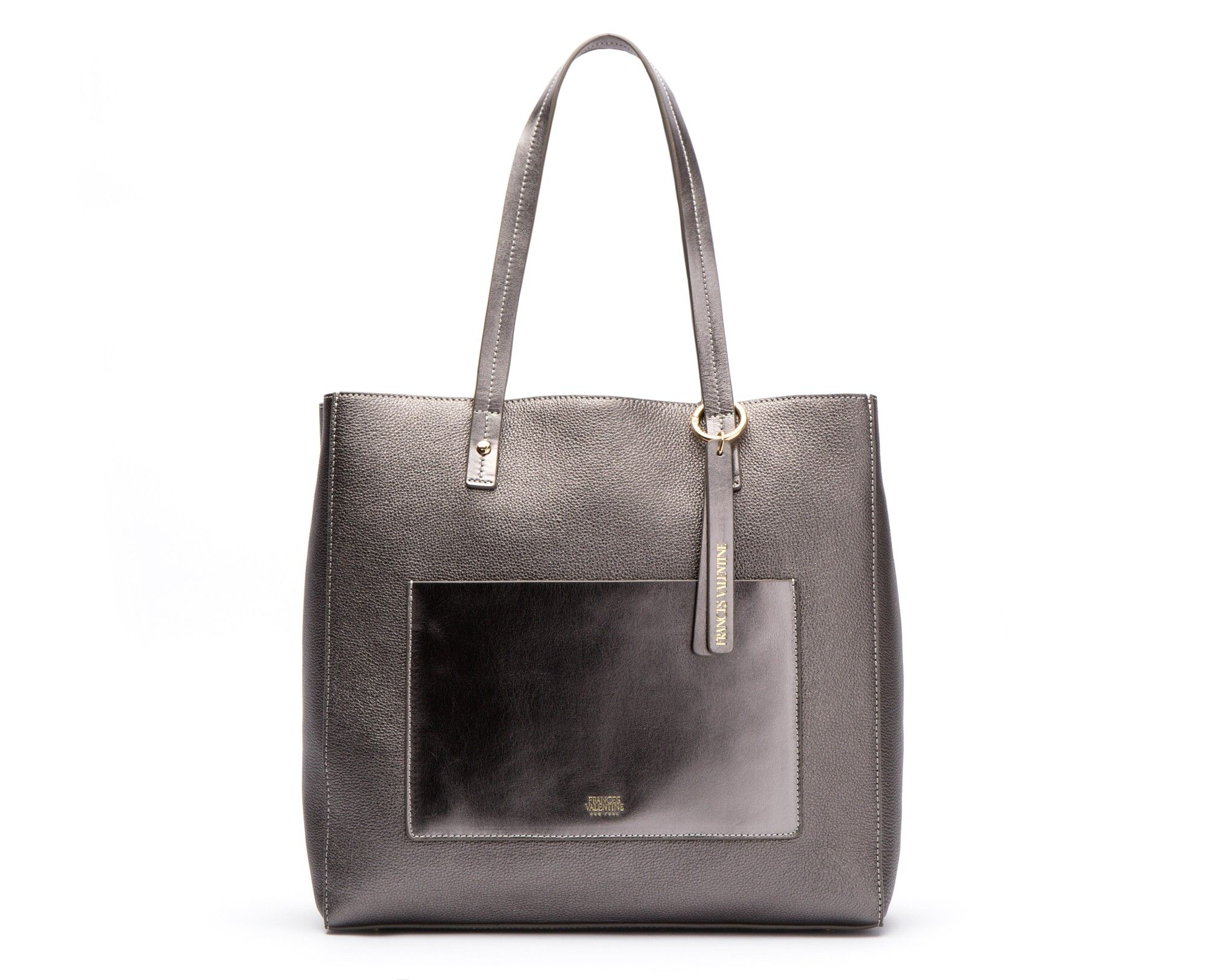c13ed790af The Tall Chloe Pewter Leather: perfect for carrying your laptop and other everyday  essentials. Design by Kate Valentine Spade.