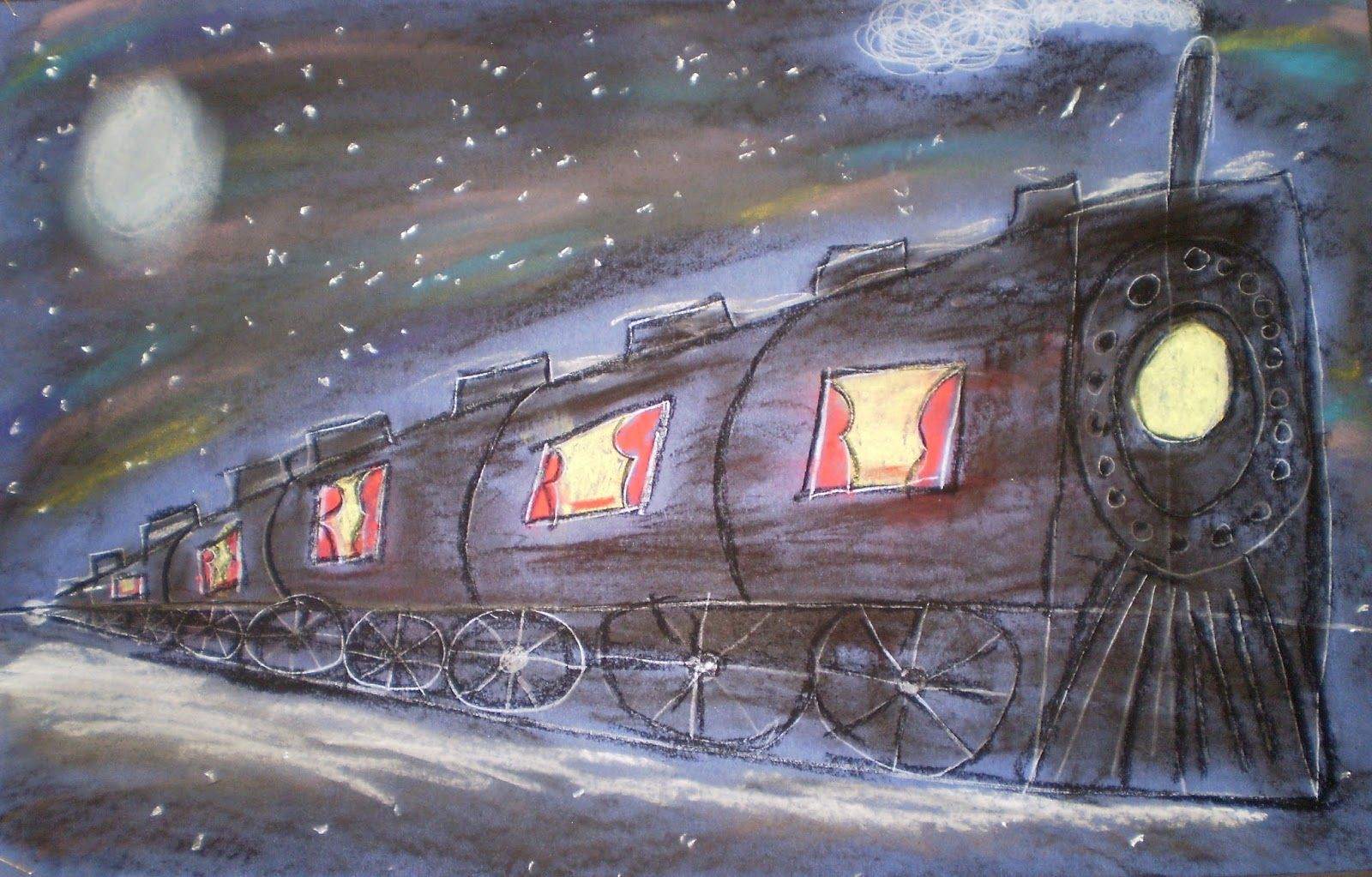 Welcome th grade intro to perspective w polar express projects