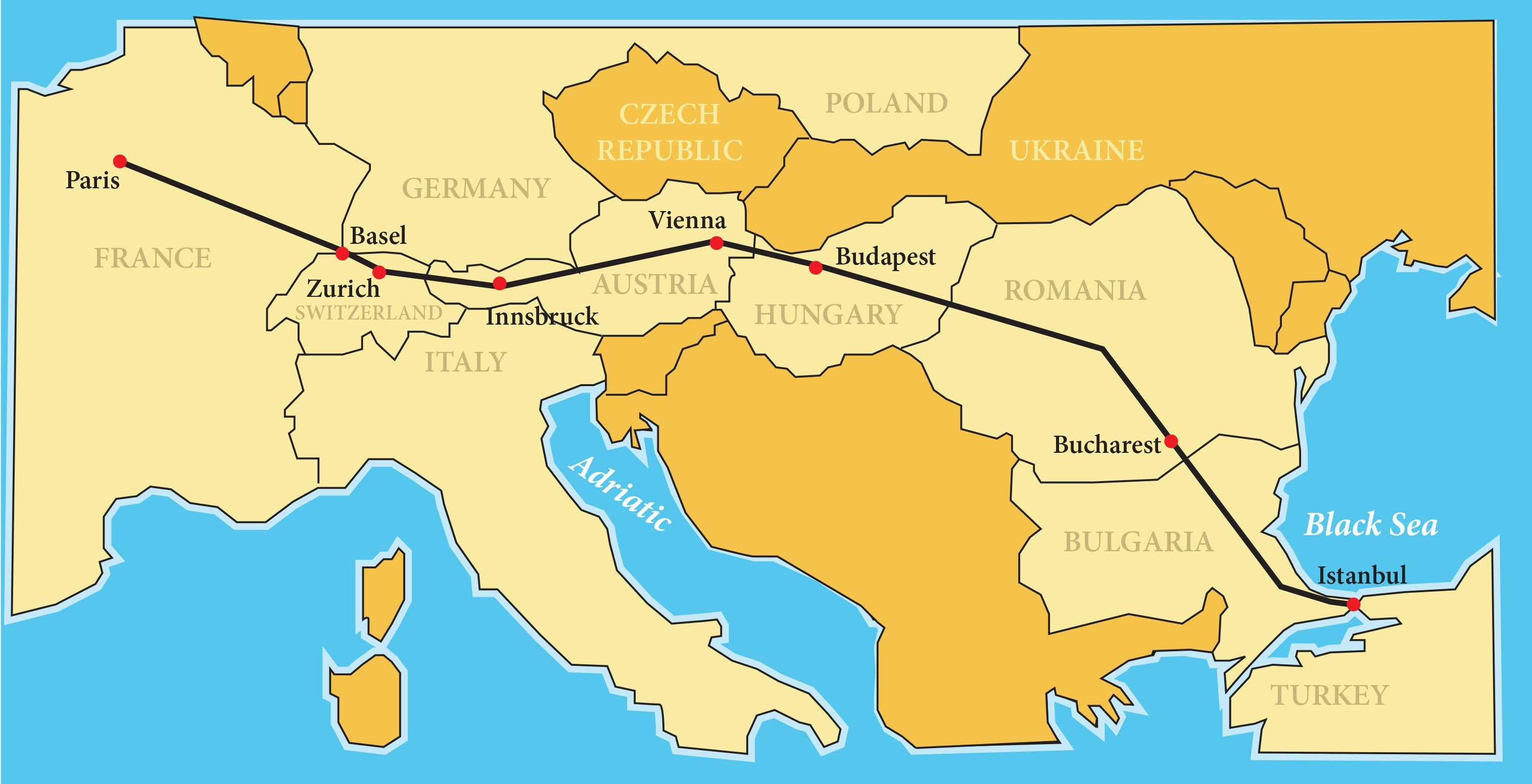 Orient Express Paris To Istanbul Istanbul Paris Luxury Train