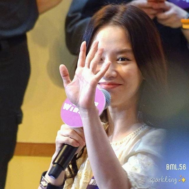 Song Ji Hyo at Windsor House in Hong Kong for Valentine's Day