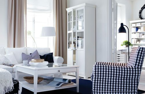 Ektorp Sofa Style : Scandinavian style living room by featuring ektorp sofa and