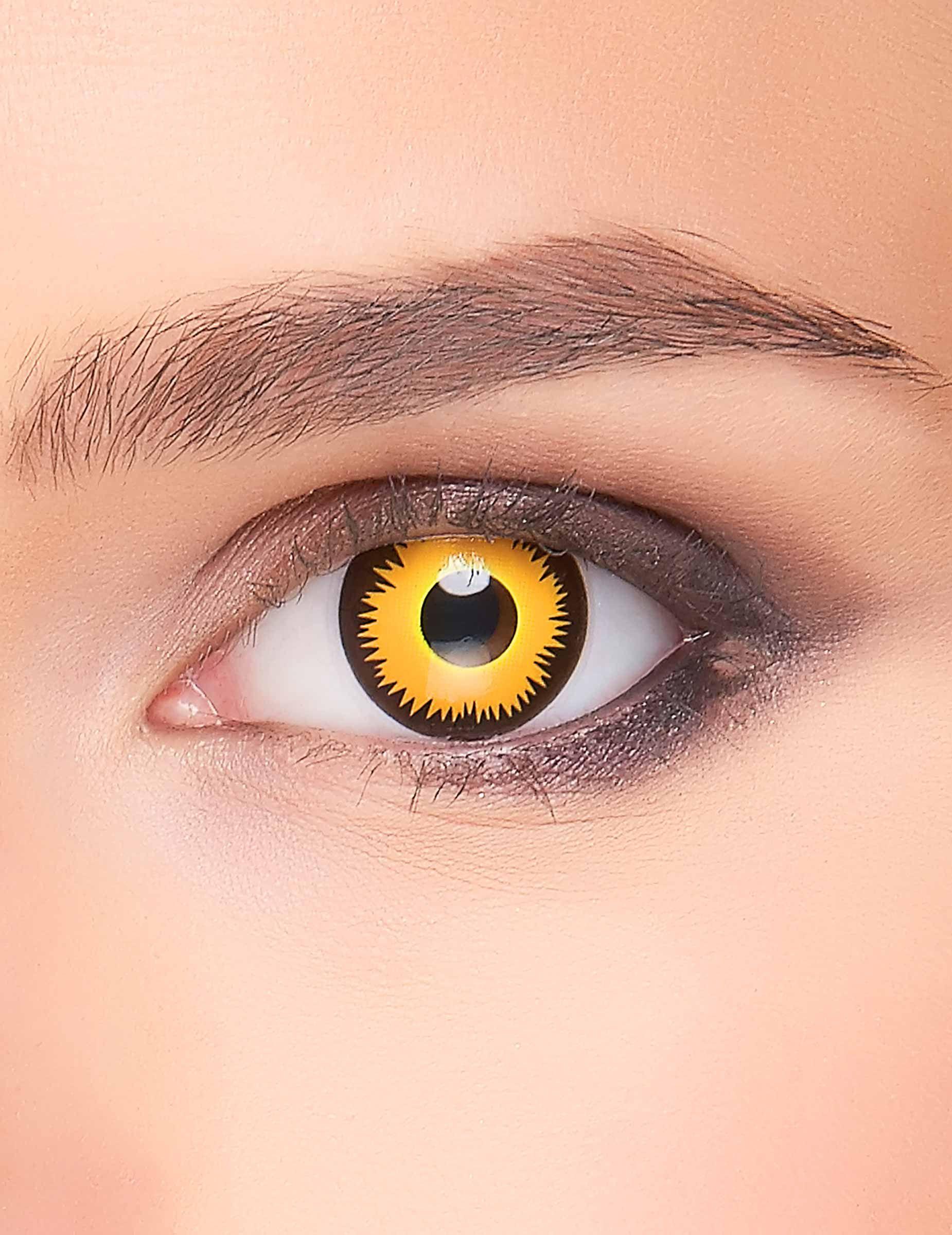 84425509fc Lentillas fantasía ojo de león adutlo: Estas lentillas fantasía representa  unos ojos de león,
