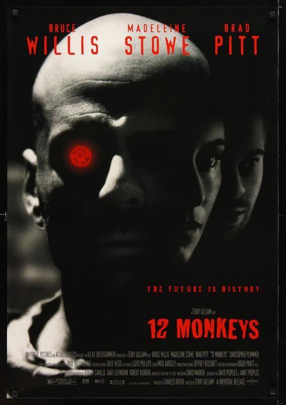 Twelve 12 Monkeys Movie cover poster