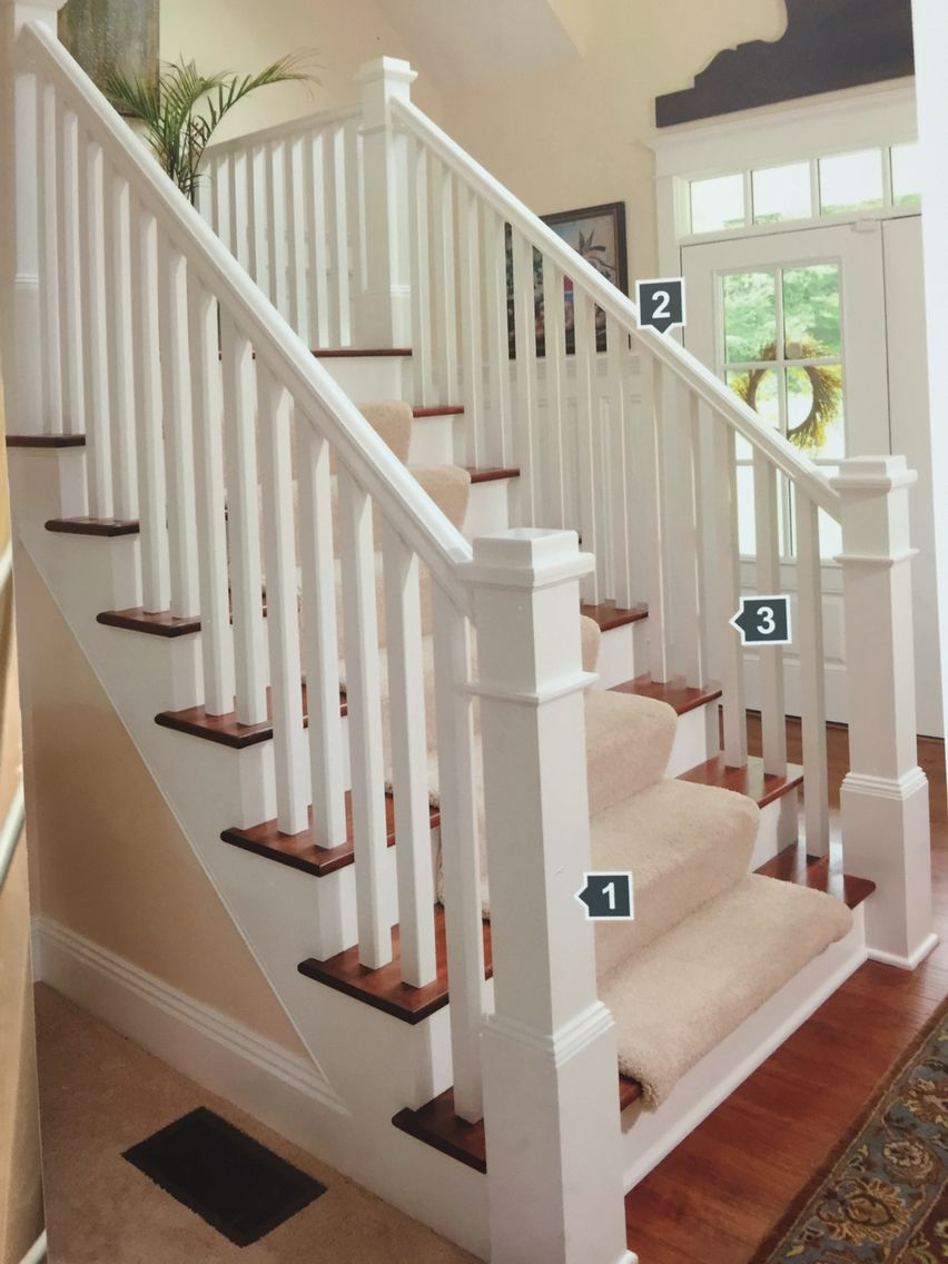 Best Spindles And Post Redo Stairs Stair Railing Stairways 400 x 300