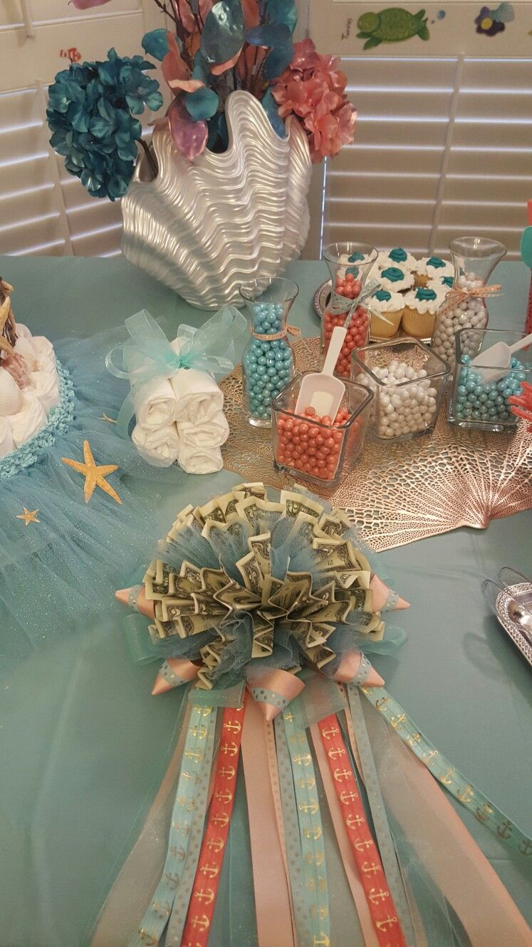 Pin by Princess Khesey on Under the Sea Baby Shower (With