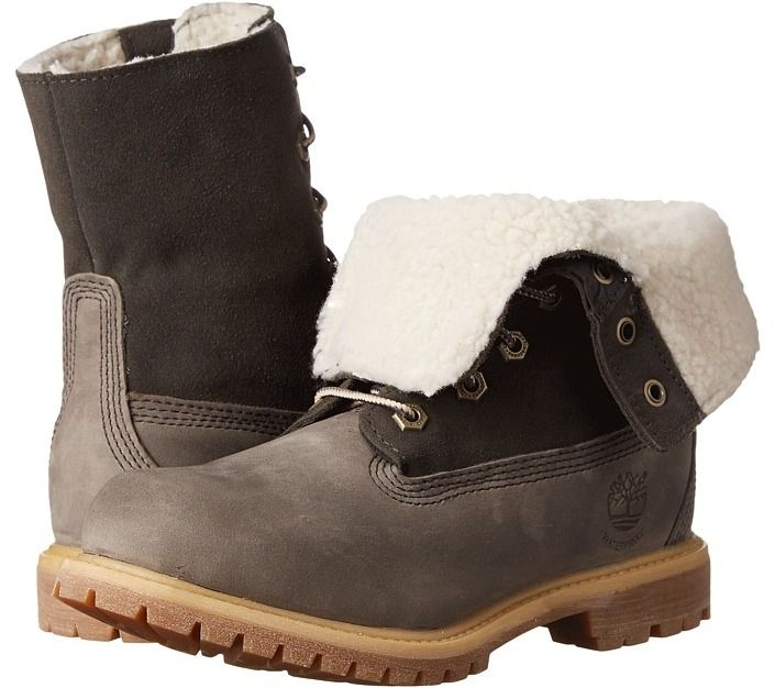 reputable site 4218f bcb69 Timberland - Authentics Teddy Fleece Fold-Down Women s Lace-up Boots
