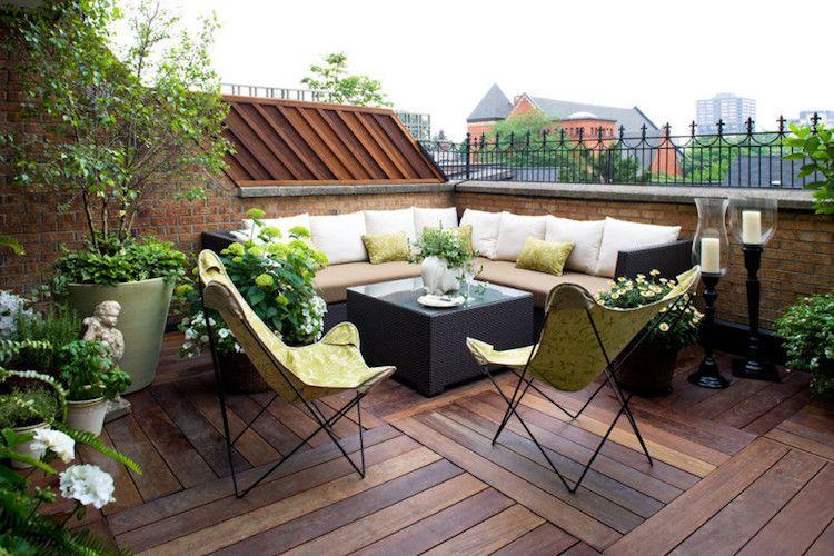 Design extérieur – 40 idées de mobilier et éclairage pour la terrasse et le balcon