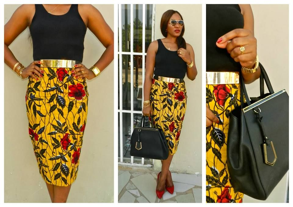 belle jupe   Le pagne africain   Jupe pagne, Robe et Jupe