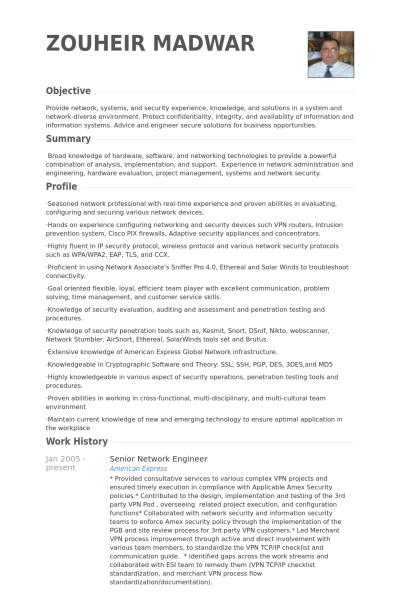 Visualcv Senior Network Engineer Resume Samples Visualcv Resume Samples Ad6f986c Resumesample Res Mechanical Engineer Resume Network Engineer Resume Examples