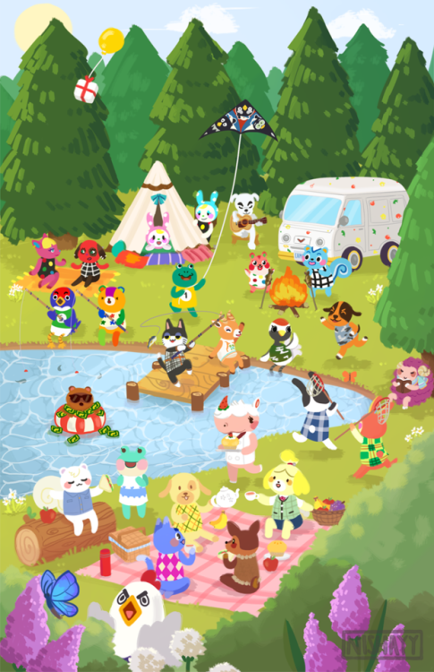 Photo of Animal Crossing Fan Art