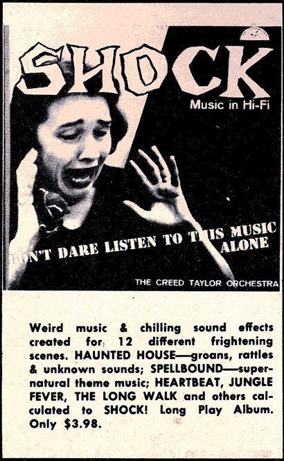 Shock music! | Mail Order Madness | Weird vintage ads, Weird vintage