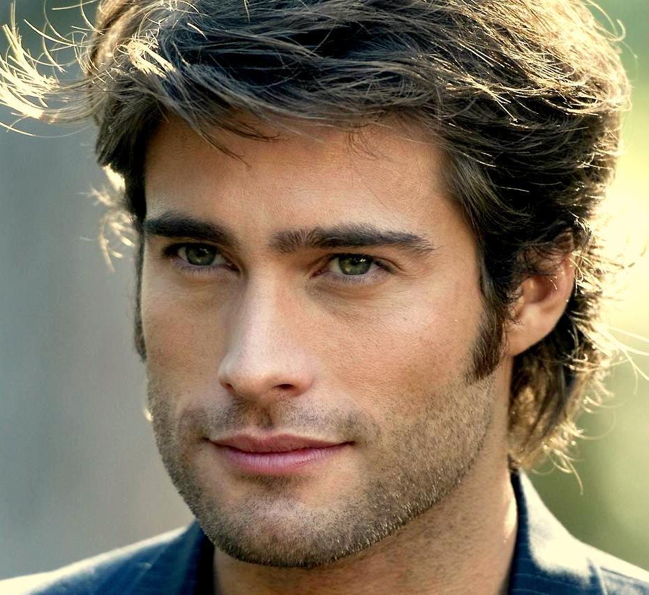 Rodrigo Guirao Diaz   Beautiful men faces, Cool hairstyles