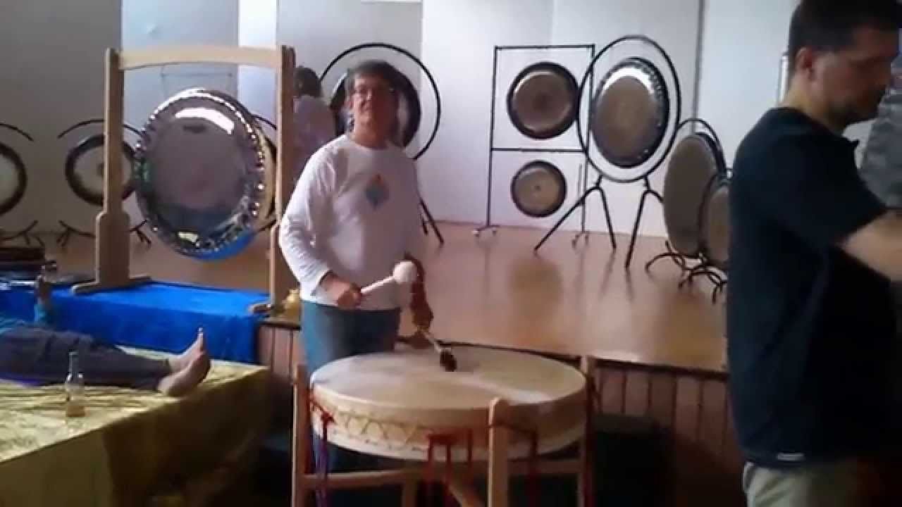 Gong & Sacred Sounds Improvisation - Jens Zygar & Friends