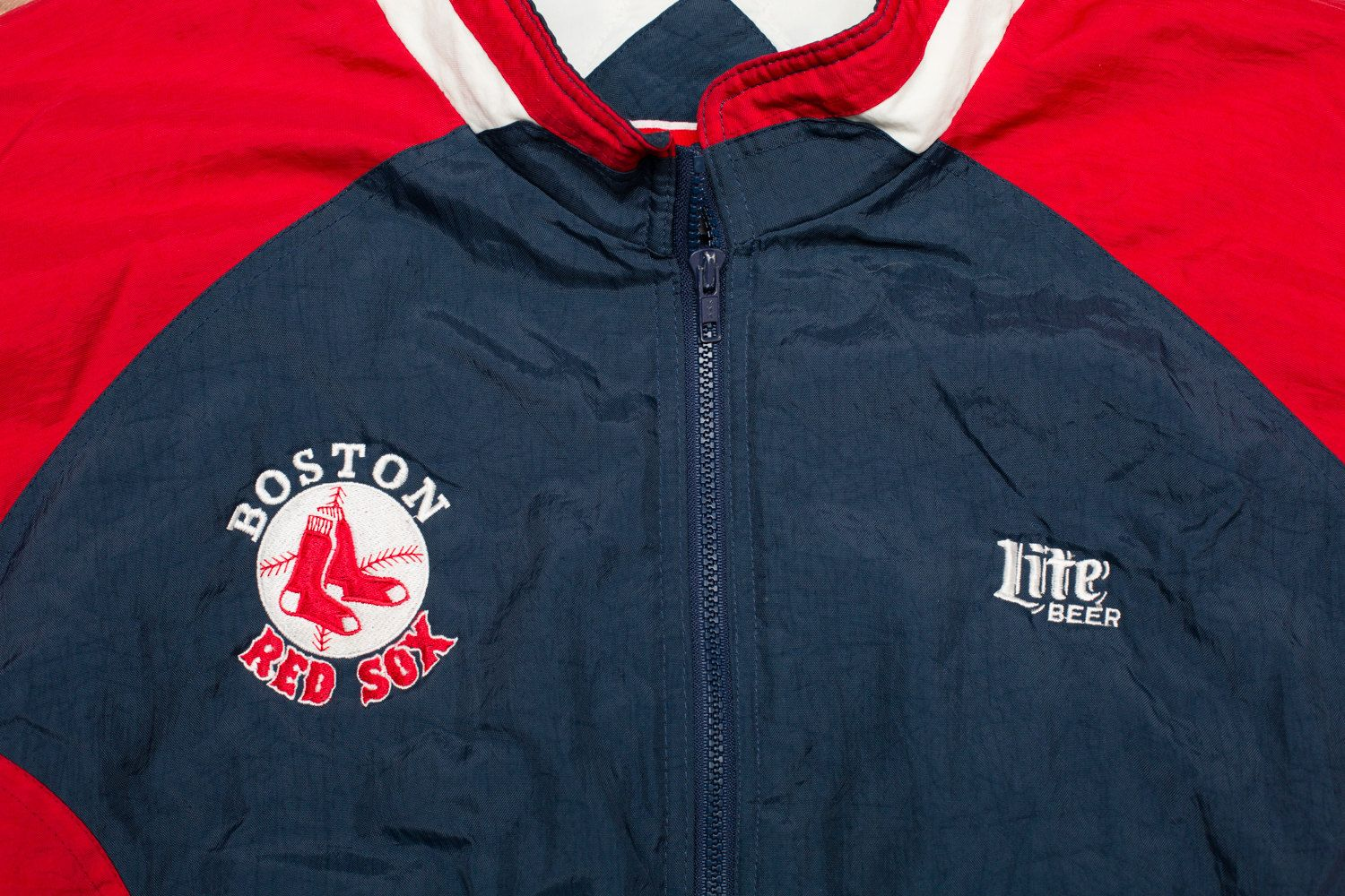 Vintage 90s Boston Red Sox Logo Swingster Xxl Winter Coat Red Sox Logo Boston Red Sox Logo Boston Red Sox [ 1000 x 1500 Pixel ]