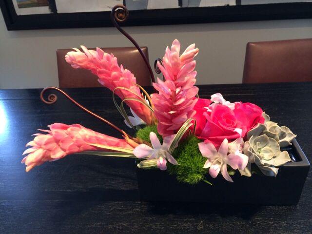 Tropical arrangement for #danmeiners office