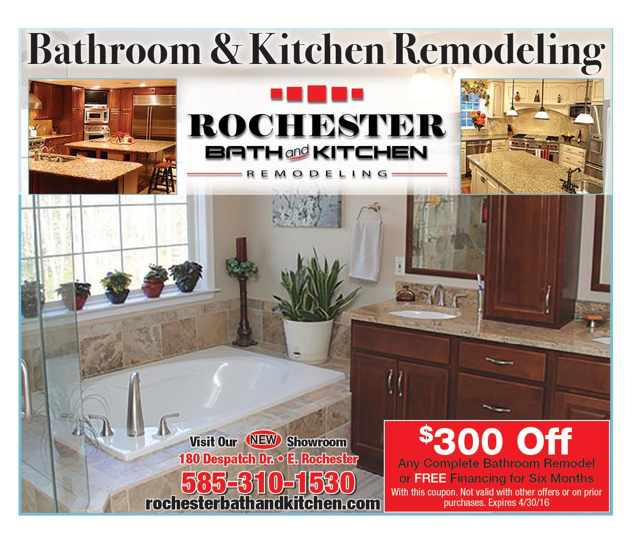 Rochester Bath U0026 Kitchen Remodeling At The BCB Home Show In February At The  Dome Arena