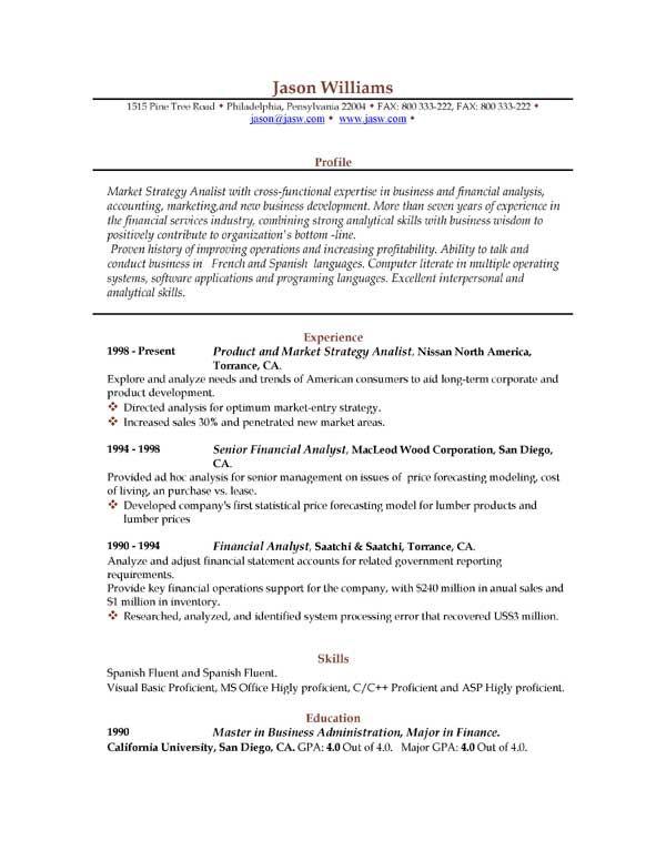 resume free sample resumes easyjob templates best samples - resume download format