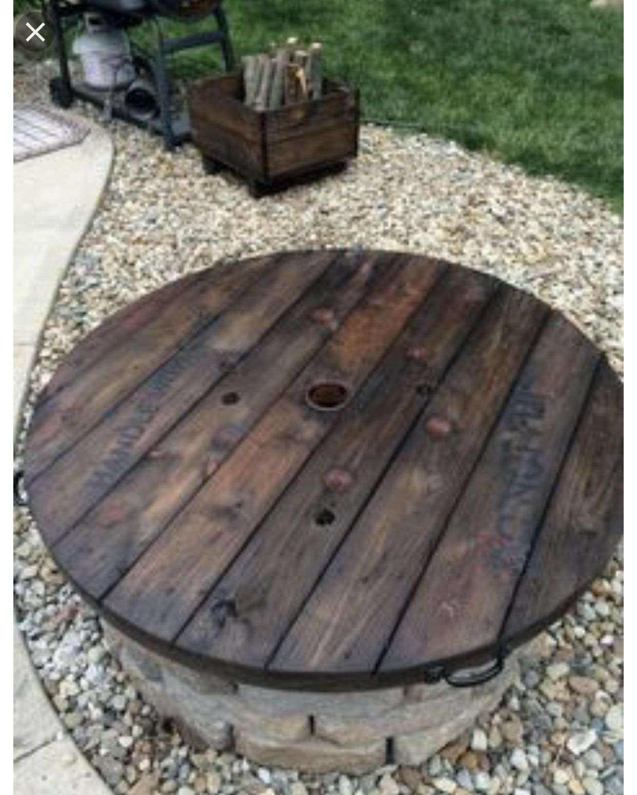 Diy fire pit cover outdoor fire pit designs backyard