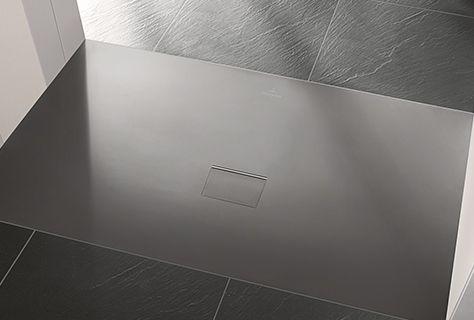 Squaro infinity douchevloer anthracite sanitair