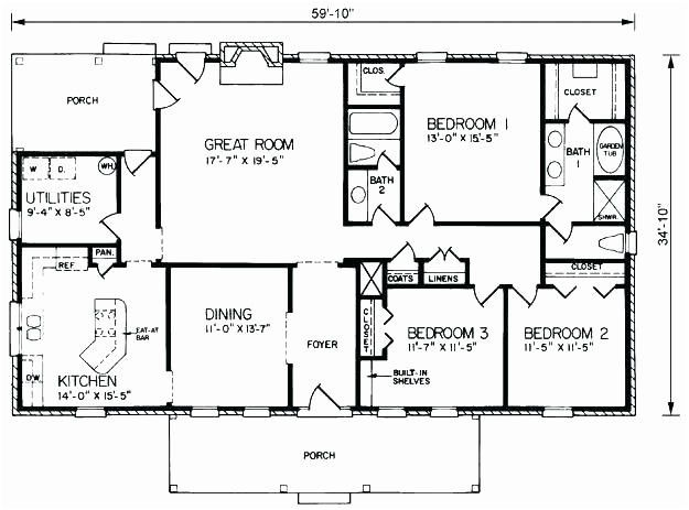 Simple Rectangular House Plans Country Style House Plans House Plans Country House Plans Simple rectangle house plan