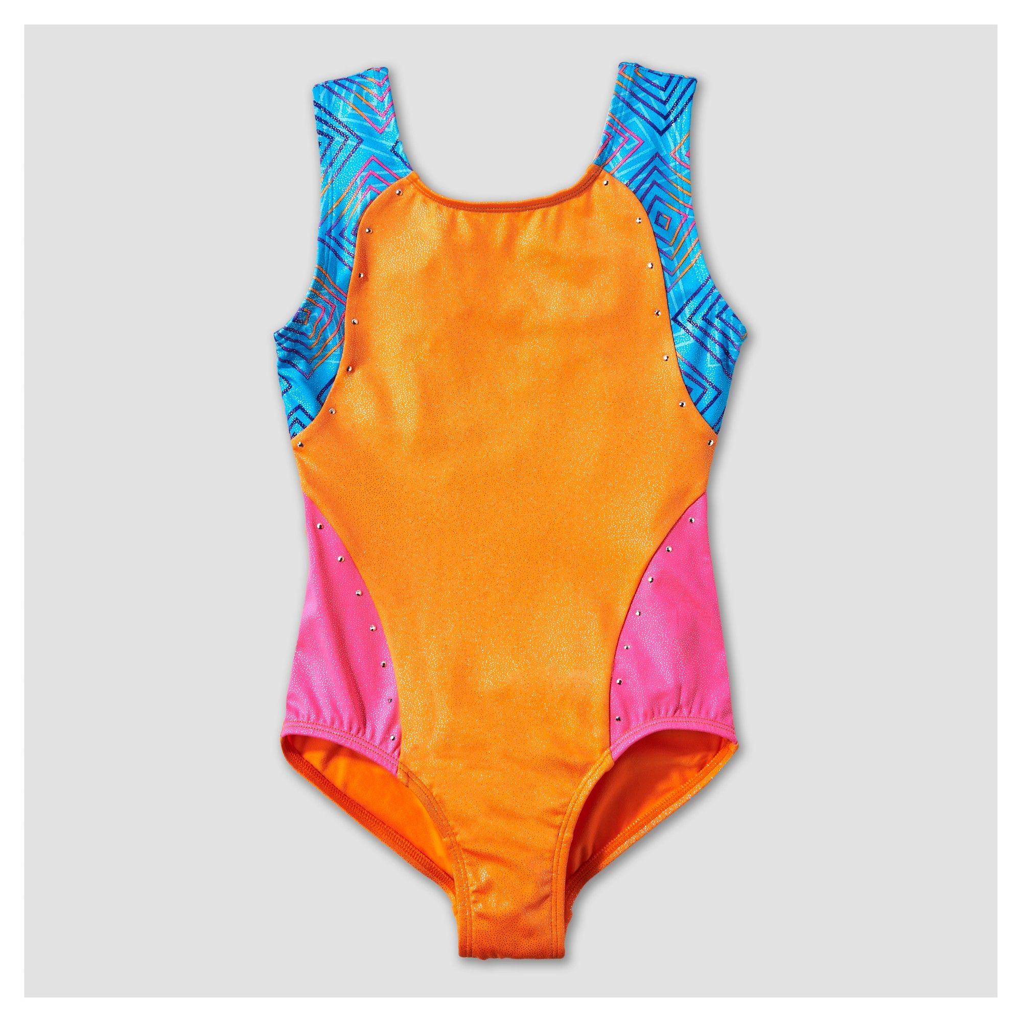 4e5991bd5 Freestyle by Danskin Girls  Leotards - Orange M