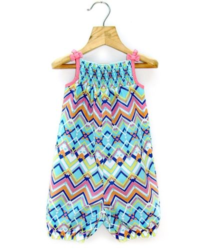 Buy Beebay Tribal Print Concise Jumpsuit For Girls 0 3 Months Online In India Shop At Firstcry Com With Images Jumpsuits For Girls Little Girl Fashion Rompers