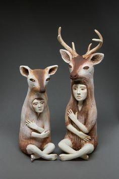 Crystal Morey Sculpture Sculpture Art Sculpture Clay