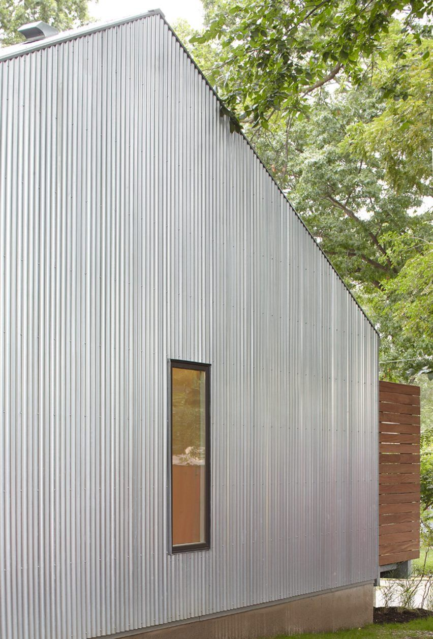 Waldo Duplex By El Dorado Architecture Corrugated Metal Residential Architecture