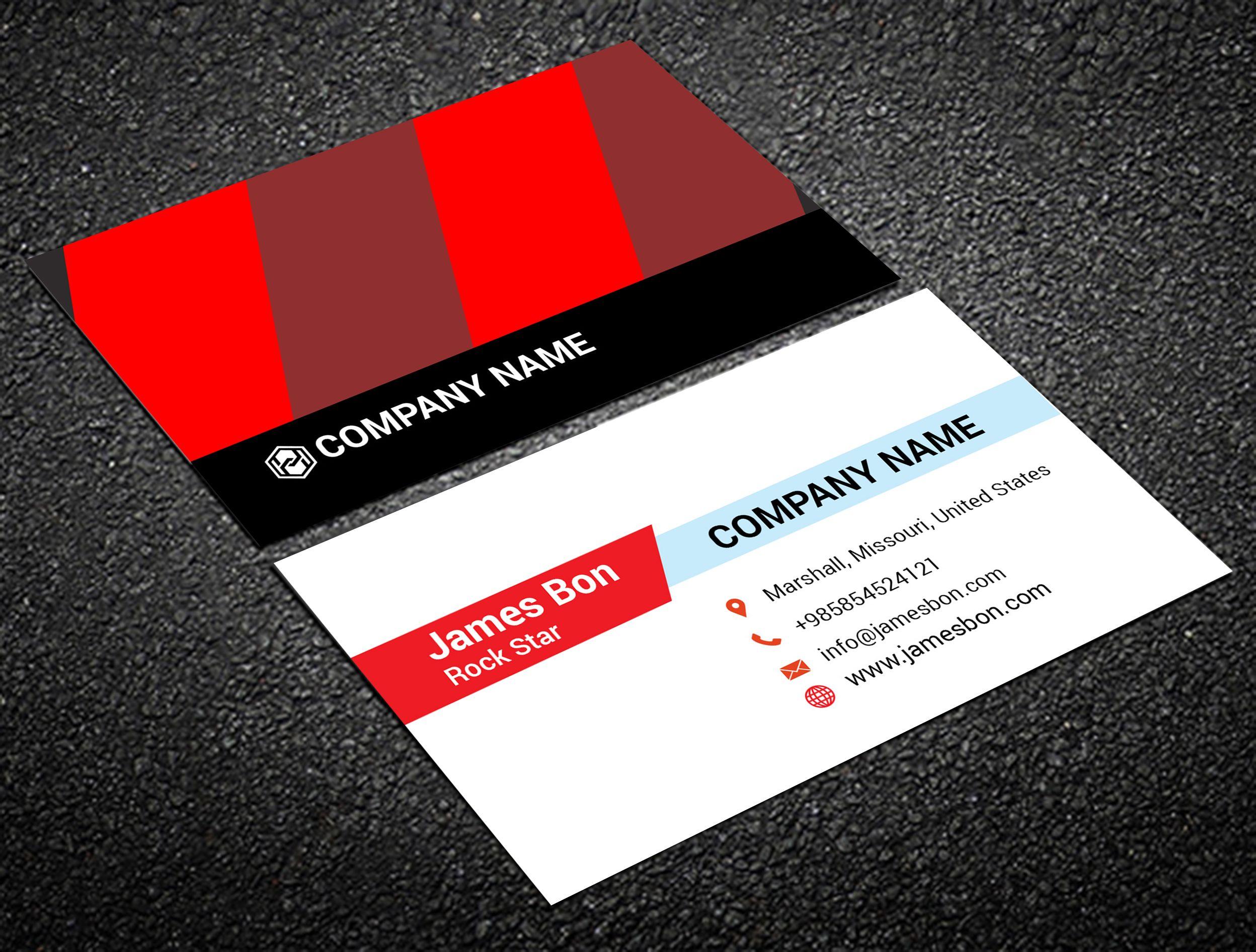 Do design amazing business cards, postcards, letterhead | Business ...