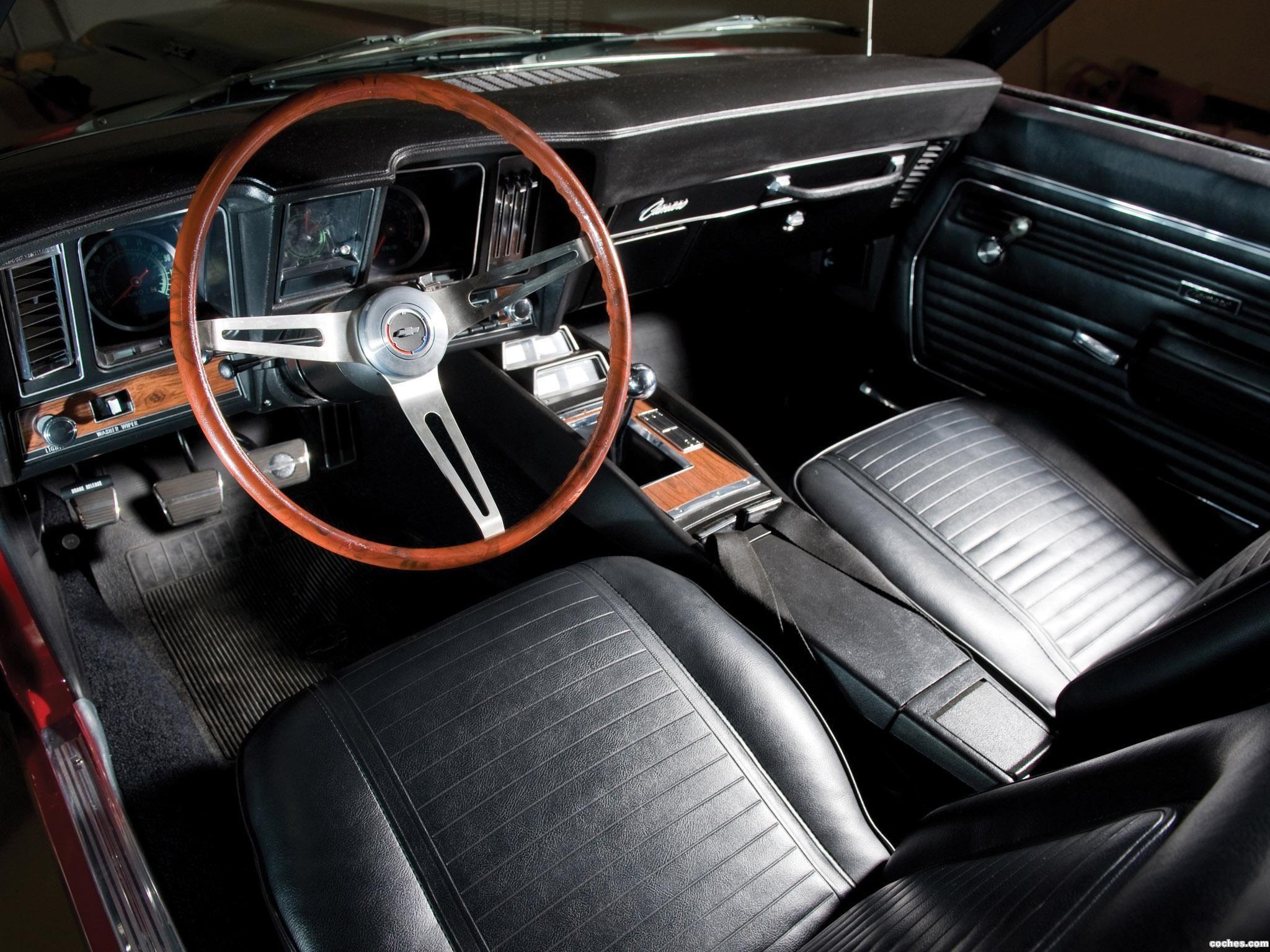 1969 Chevrolet Camaro Z 28 Interior Chevrolet Camaro Classic