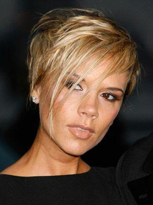 Victoria Beckham, short hair @Charity Banman...extreme but fun! one drawback-needs lots of upkeep.